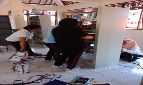 Persiapan Lomba Perpustakaan Desa Mengwi